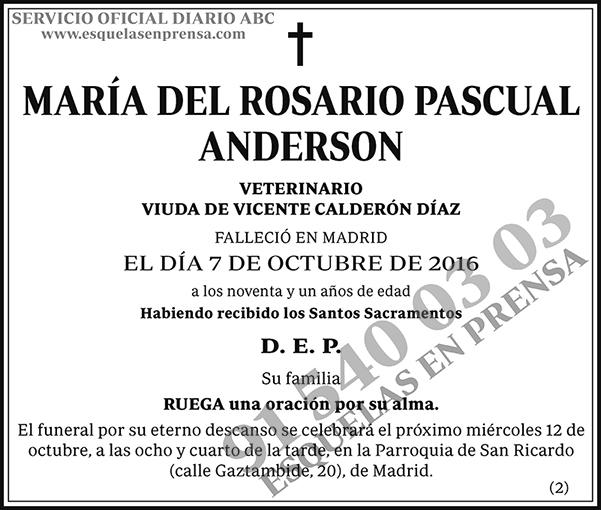 María del Rosario Pascual Anderson